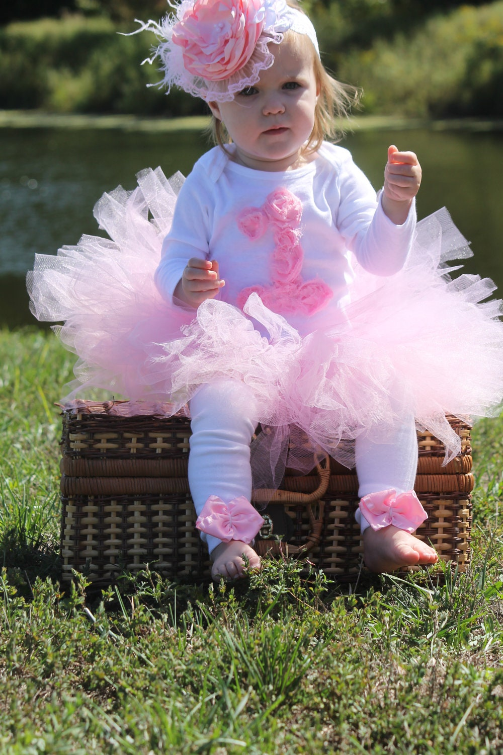 Adorable girls 1st 2nd 3rd birthday tutu Outfit other colors