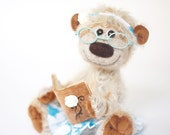 Artist Bear OOAK Collectible mohair teddy bear Onute