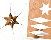 postcard wood - 3 stars no. 4