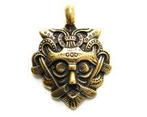 "Bronze Pendant ""Odin's mask"""
