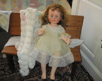 Plaything Doll Jointed Knees  Sweet Doll Original Clothing, Jointed Doll, Vintage Doll, Antique Doll, Old Doll, Vintage Toys /S :)