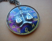 Astrological Sign 3D libra , Necklace,Pendant,Zodiac Charm, Astrology,horoscope,Birthday gift