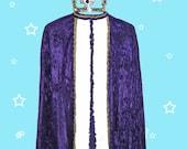 King Velour Robe, Crown f...