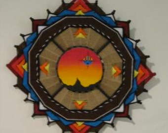 Native American Apache Warriors Shield