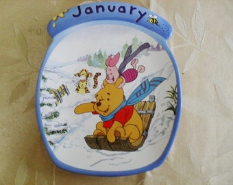 Winnie The Pooh Collectible Wall Plaque