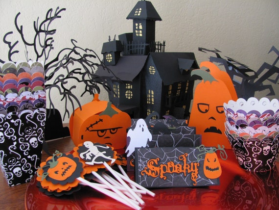 Gallery for halloween centerpieces for kids party - Fabriquer decoration halloween ...