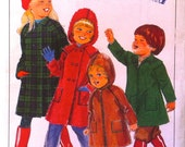 Childs Coat Pattern- 1970s Size 5