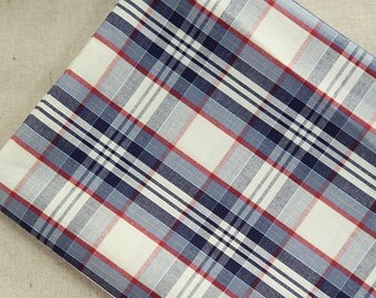 Yarn Dyed Cotton Classical Check Blue per Yard 24408