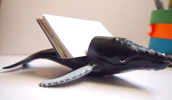Whale Business Card Holder