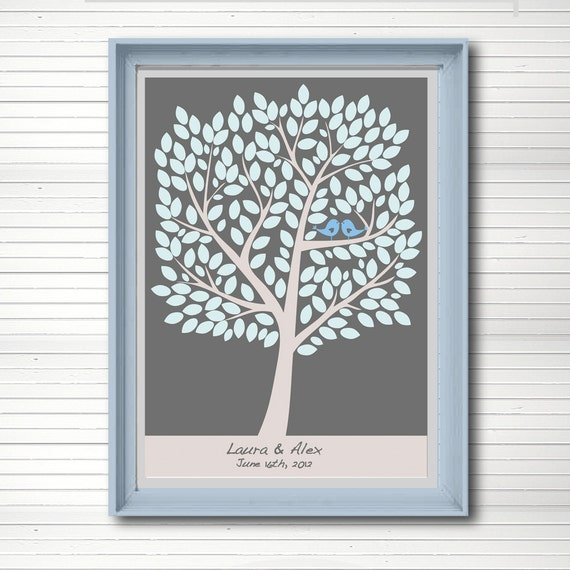 Items Similar To Wedding Tree Guest Book Alternative
