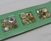 Vintage Buttons - Gorgeous MIX - Lot of 20 unique buttons