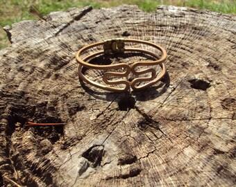 Copper Hinged Bracelet