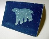 Ursa Major - limited edition cyanotype original print, blue, astronomy, stars