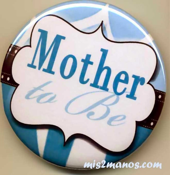 to be button badge baby shower pin back button personalized buttons