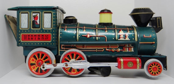 Old Toy Trains : Vintage toy train modern toys tin