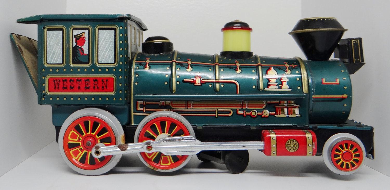 Old Toy Trains : Vintage toy train modern toys tin
