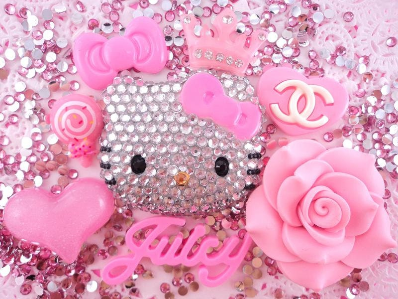 Hello kitty deco kit diy by blingit2 on etsy - Deco chambre hello kitty ...