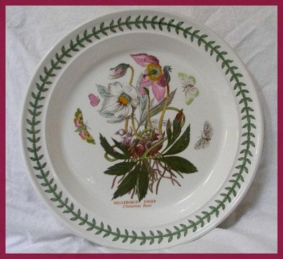 Portmeirion Botanic Garden Dinner Plate By Queenofbigideas On Etsy