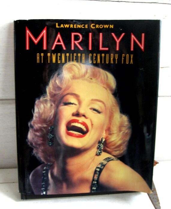 Marilyn Monroe Hardcover Coffee Table Book Biographic