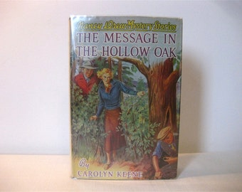 Nancy Drew's Message in the Hollow Oak, 3rd or 4th 1936 Print
