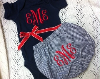 Monogrammed Baby Gift Set