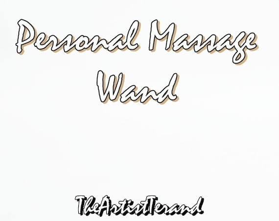Personal Wand 172 - Rainbow Colored Birch Wood