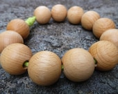 redor - wooden bead trivet