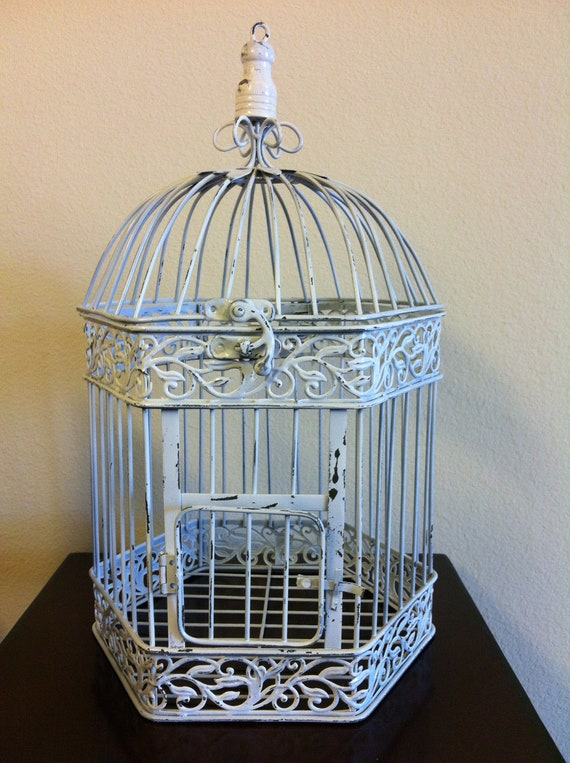 Birdcage - Wedding, Card Holder