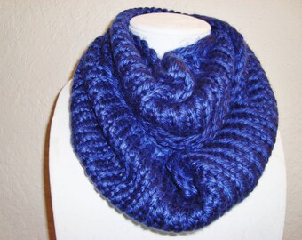 Ocean Blue Soft and Silky Cowl