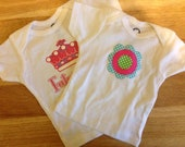 Set of 2 Gerber Infant t-shirts One 3-6 months One 6-9 months