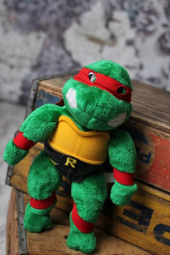 Vintage teenage mutant ninja turtles raphael by vintagevanshop