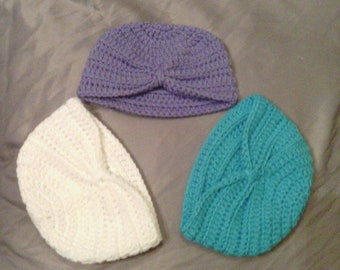 Newborn Turban Crochet Hat