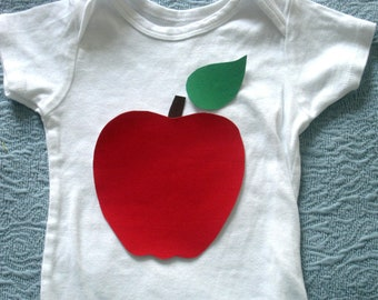 Apple Iron On Applique