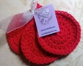 Reserved Listing for Erin - Three Packs of Face Scrubbies