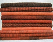 "Mary Flanagan Textured Felted Wool Bundle 16"" x 6.5"": Mexican Clay"