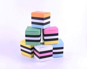 Liquorice Allsorts Favor Box Kids Party Favors, Kids Party Decor, DIY Wedding Favors Candy Favors, Printable Gift Box Jewelry Box