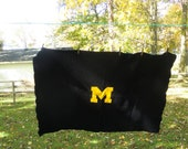 Vintage University of  Michigan Stadium Blanket