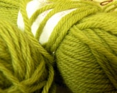 Avocado Wool of the Andes worsted weight by Knitpicks