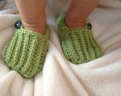 Baby Booties, Made to Order, Baby Easy on Loafers