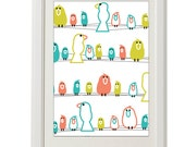 birds wall print, kids room, 8''x10'', free shipping, nursery room, girl, boy