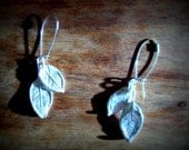 rose leafs silverplated