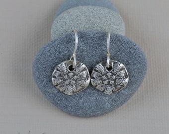 Sea Star Sterling Silver Earrings