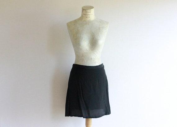Vintage Sisley Skirt- Silk