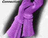Vintage 1935 Chic Lace Cuff Gloves 299 PDF Digital Crochet Pattern