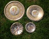 egyptian wall plates set