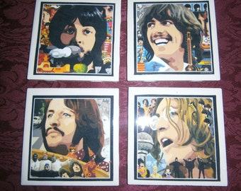 Beatles Coasters II