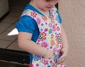 Mommy's little helper floral PUL craft apron