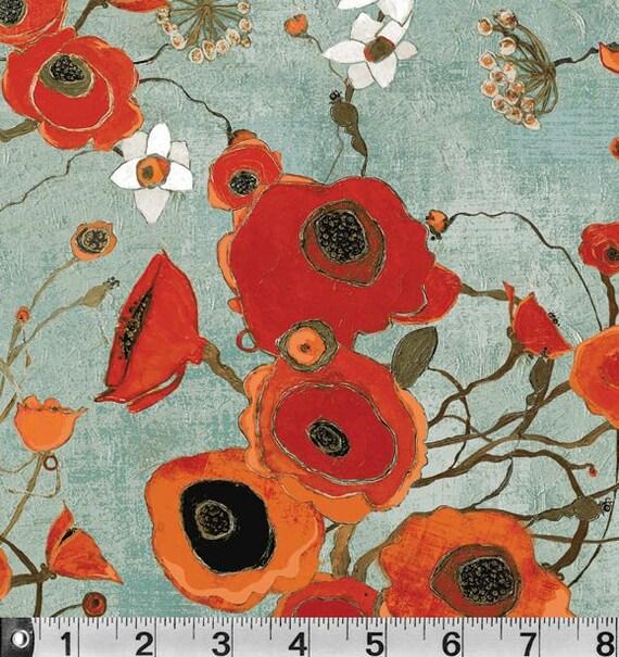 poppy print fabric - photo #36