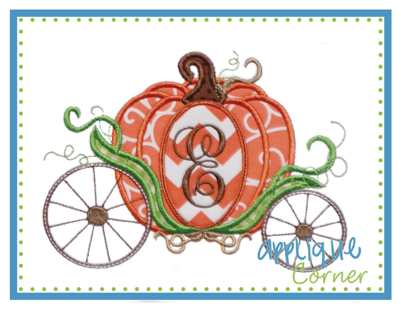 Pumpkin Carriage Just Like