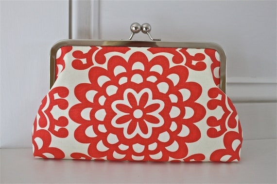 Floral Purse by Elsebeth Mousten